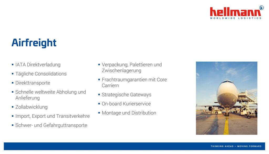 Airfreight IATA Direktverladung