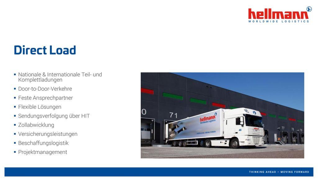 Direct Load Nationale & Internationale Teil- und Komplettladungen