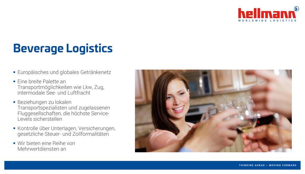 Beverage Logistics Europäisches und globales Getränkenetz