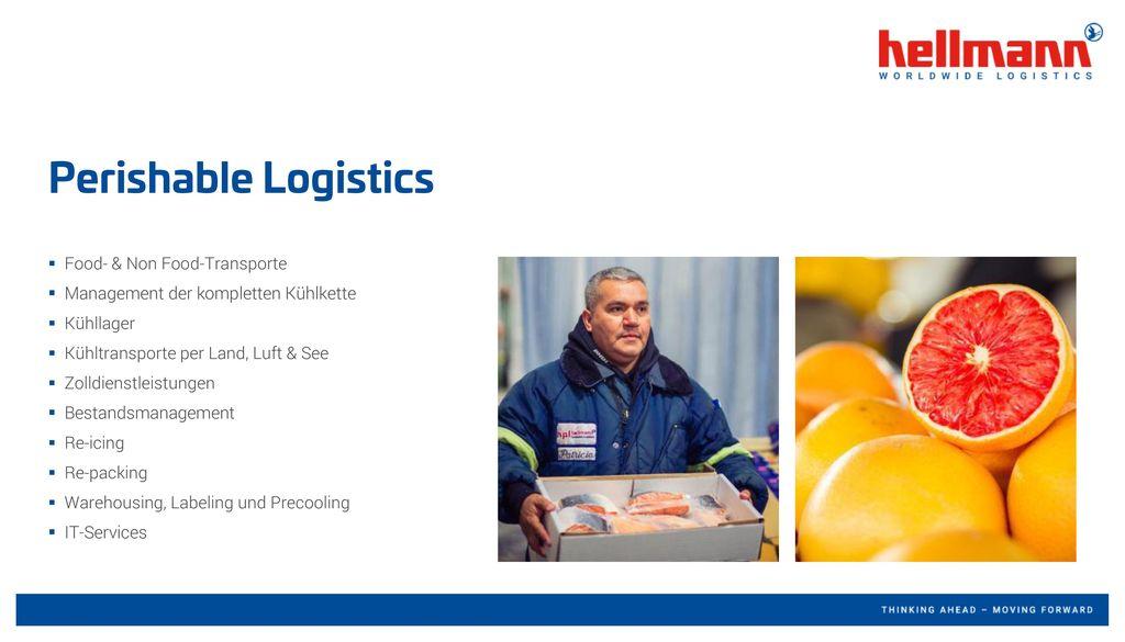 Perishable Logistics Food- & Non Food-Transporte