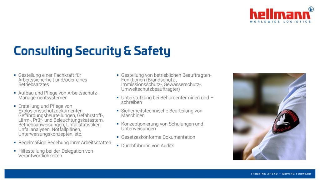 Consulting Security & Safety