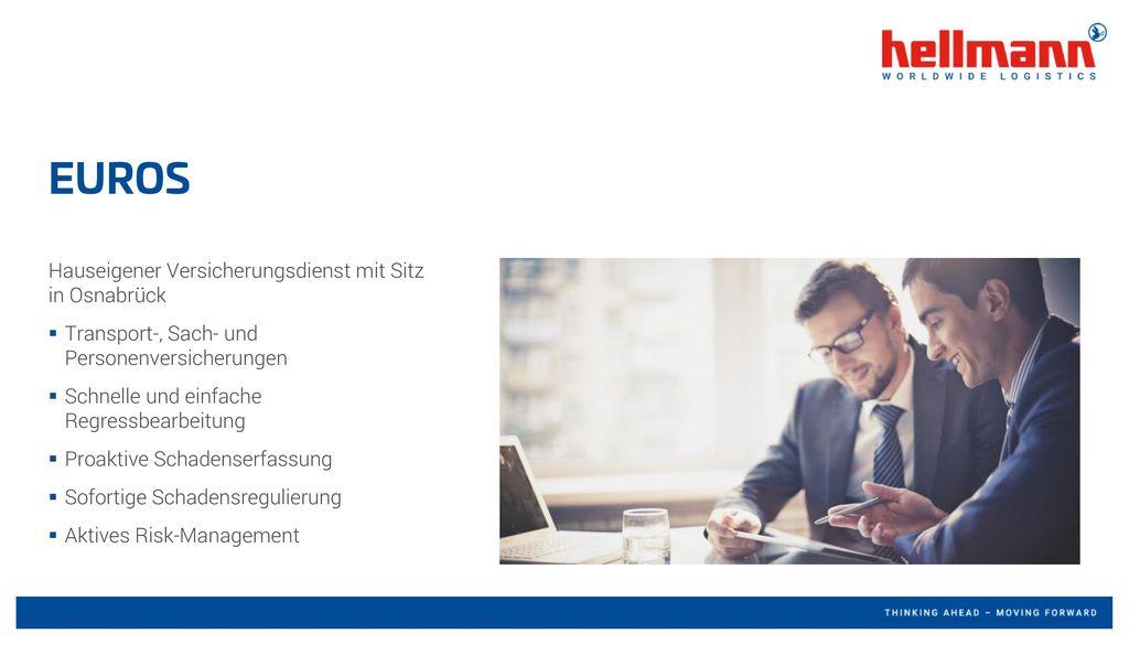 EUROS Hauseigener Versicherungsdienst mit Sitz in Osnabrück