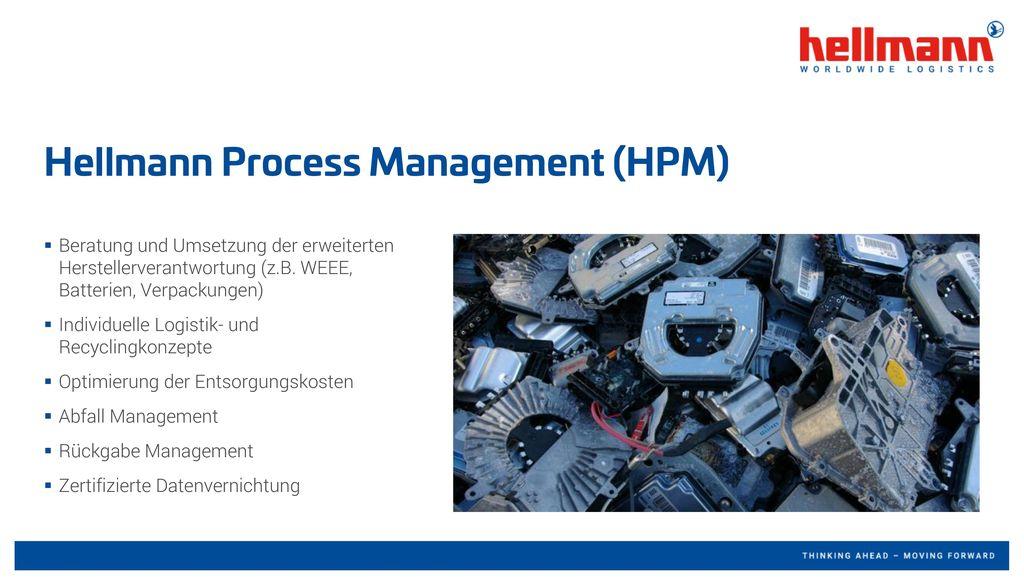 Hellmann Process Management (HPM)
