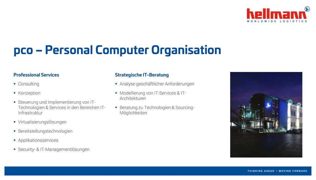 pco – Personal Computer Organisation