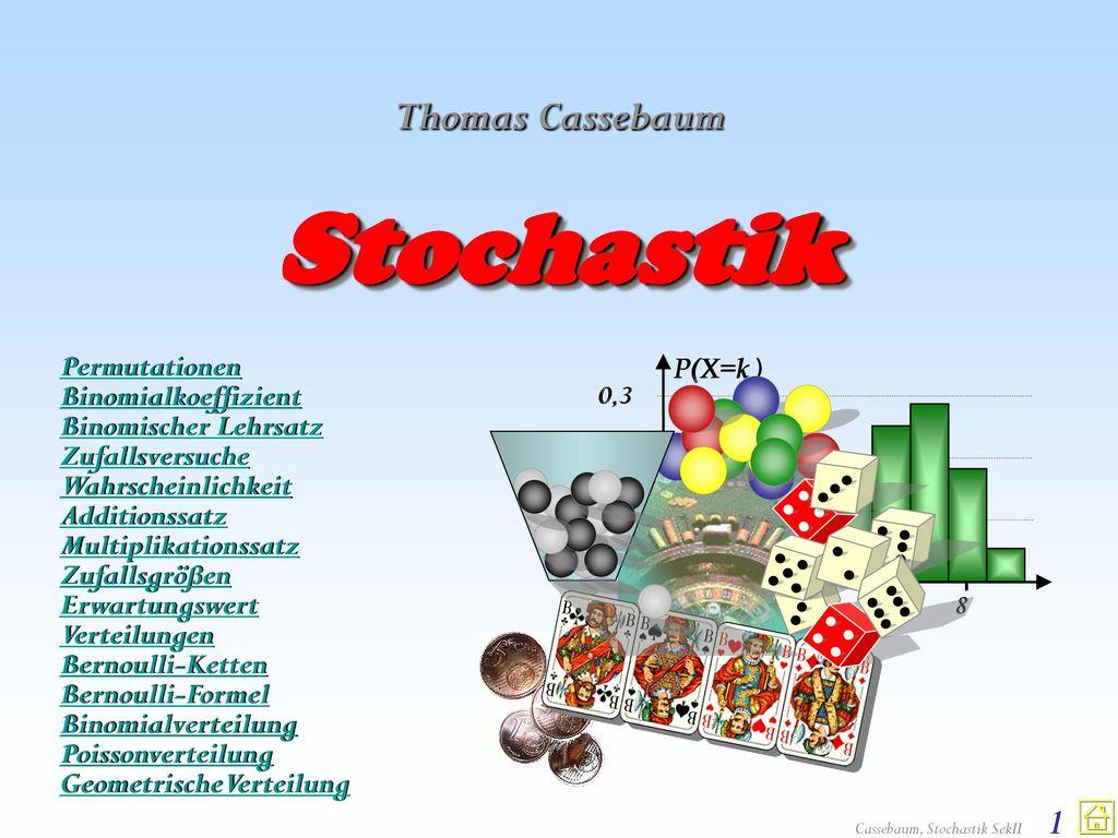 Stochastik Thomas Cassebaum Permutationen Binomialkoeffizient