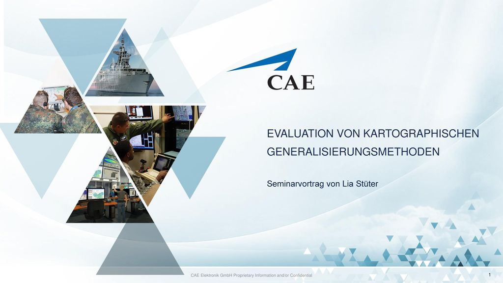 CAE Elektronik GmbH Proprietary Information and/or Confidential