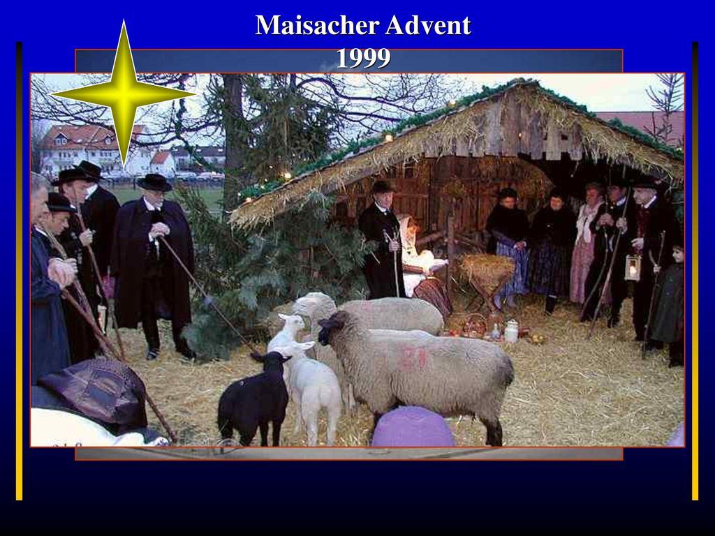 Maisacher Advent 1999 München Maisach Bayern