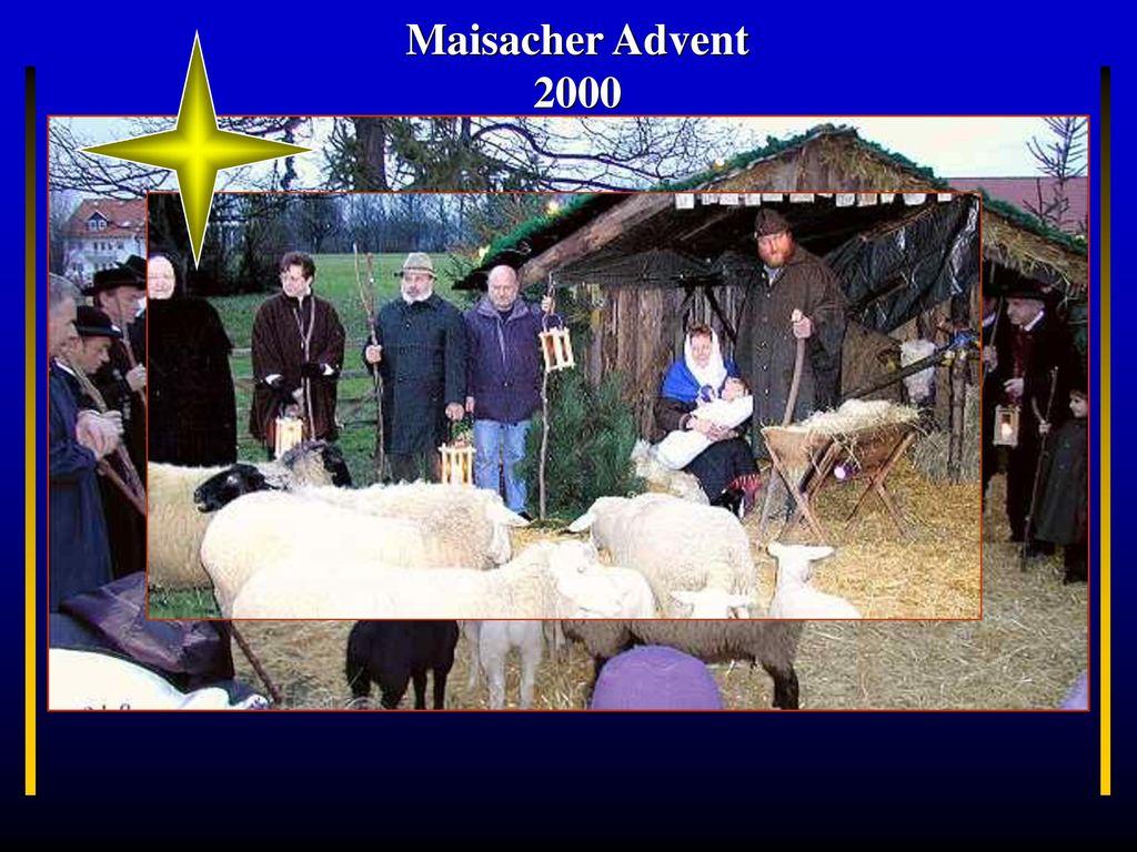 Maisacher Advent 2000 Bayern