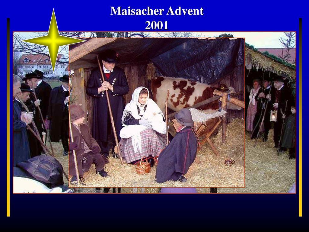 Maisacher Advent 2001 Bayern