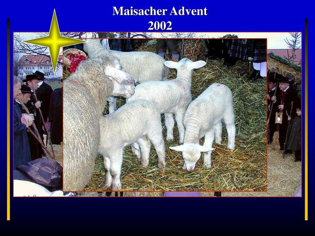 Maisacher Advent 2002 Bayern