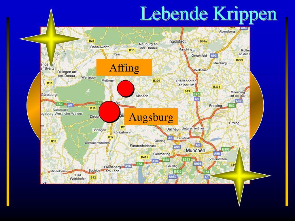 Lebende Krippen Augsburg Affing Bayern
