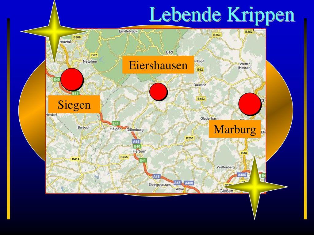 Lebende Krippen Siegen Marburg Eiershausen