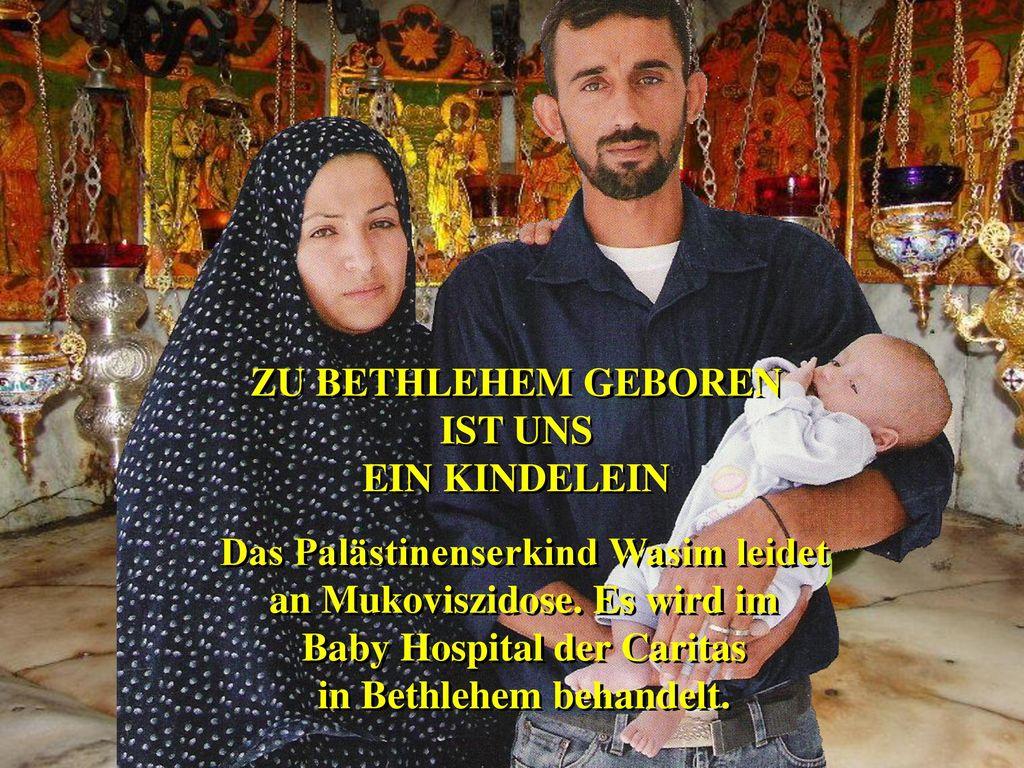ZU BETHLEHEM GEBOREN IST UNS EIN KINDELEIN