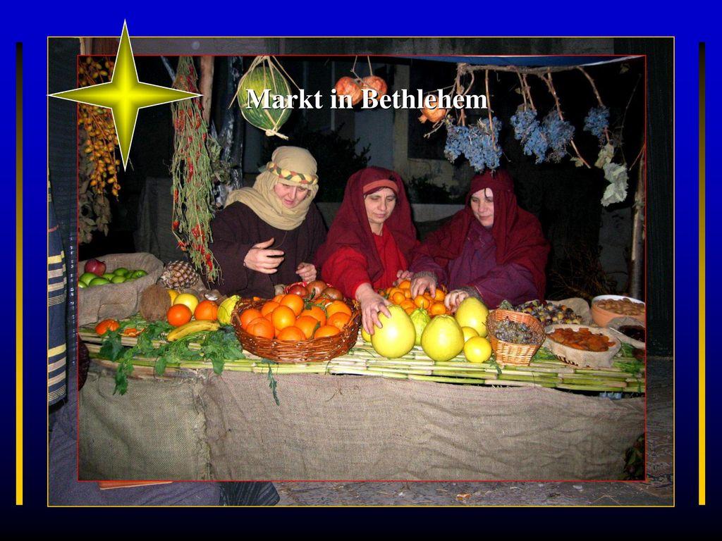 Markt in Bethlehem Visciano