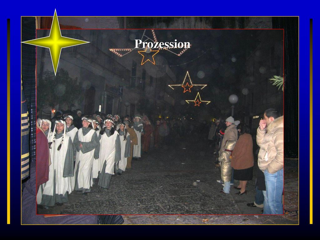 Prozession Visciano