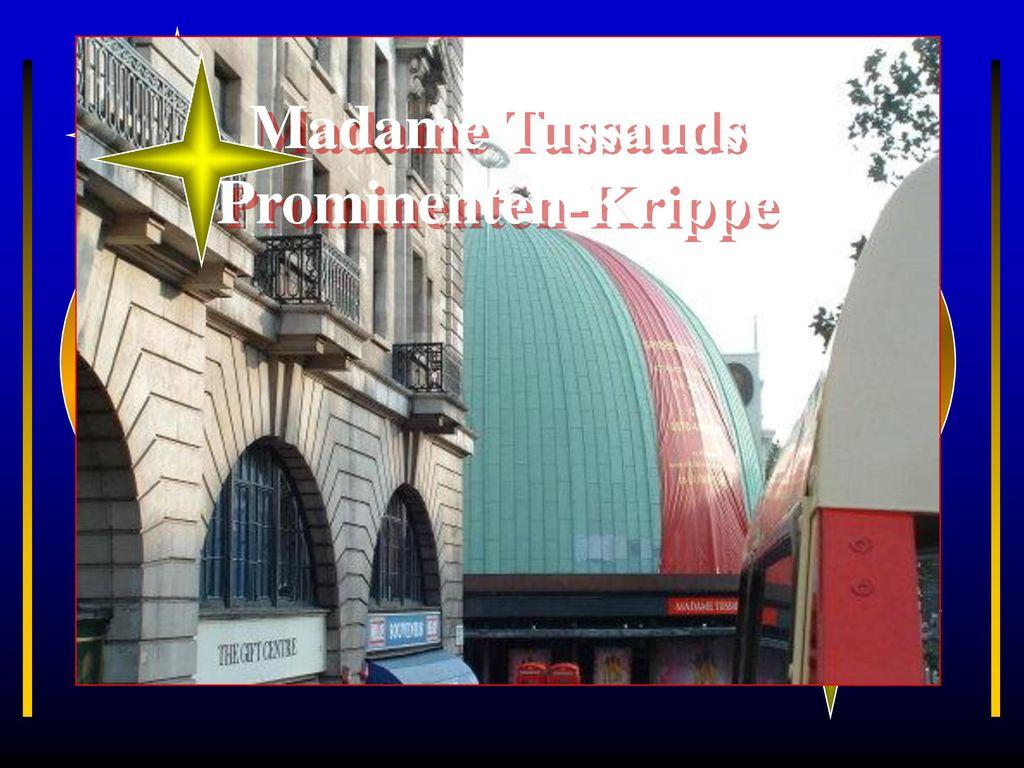 Madame Tussauds Prominenten-Krippe