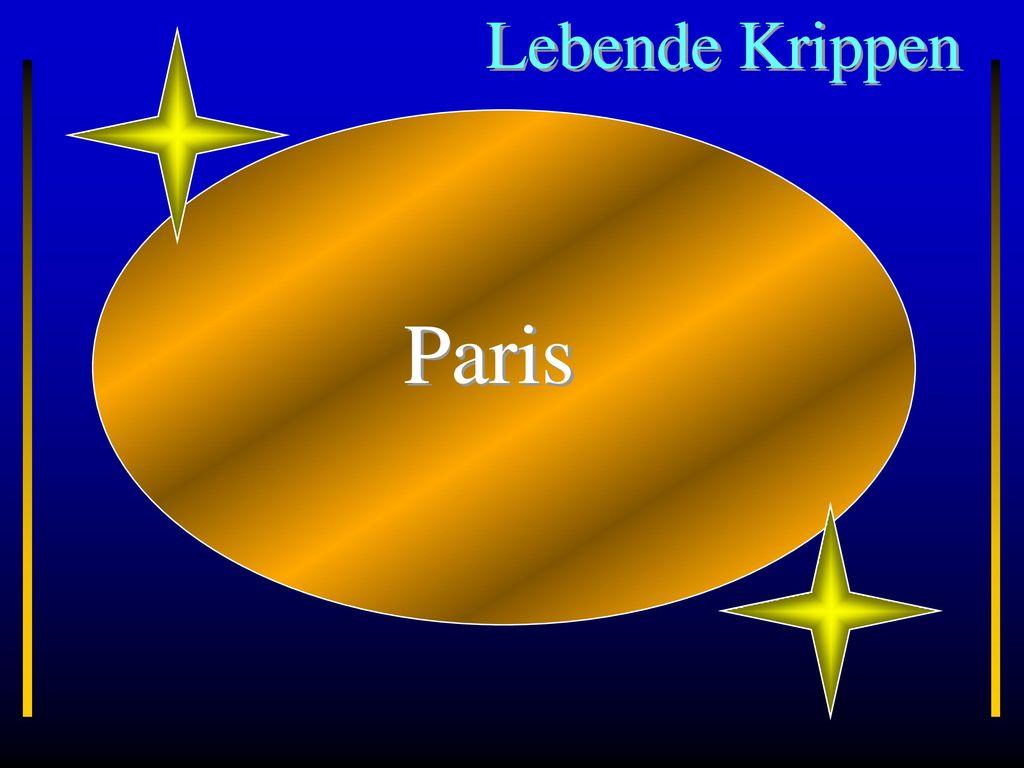 Lebende Krippen Paris