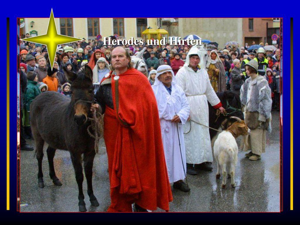 Herodes und Hirten