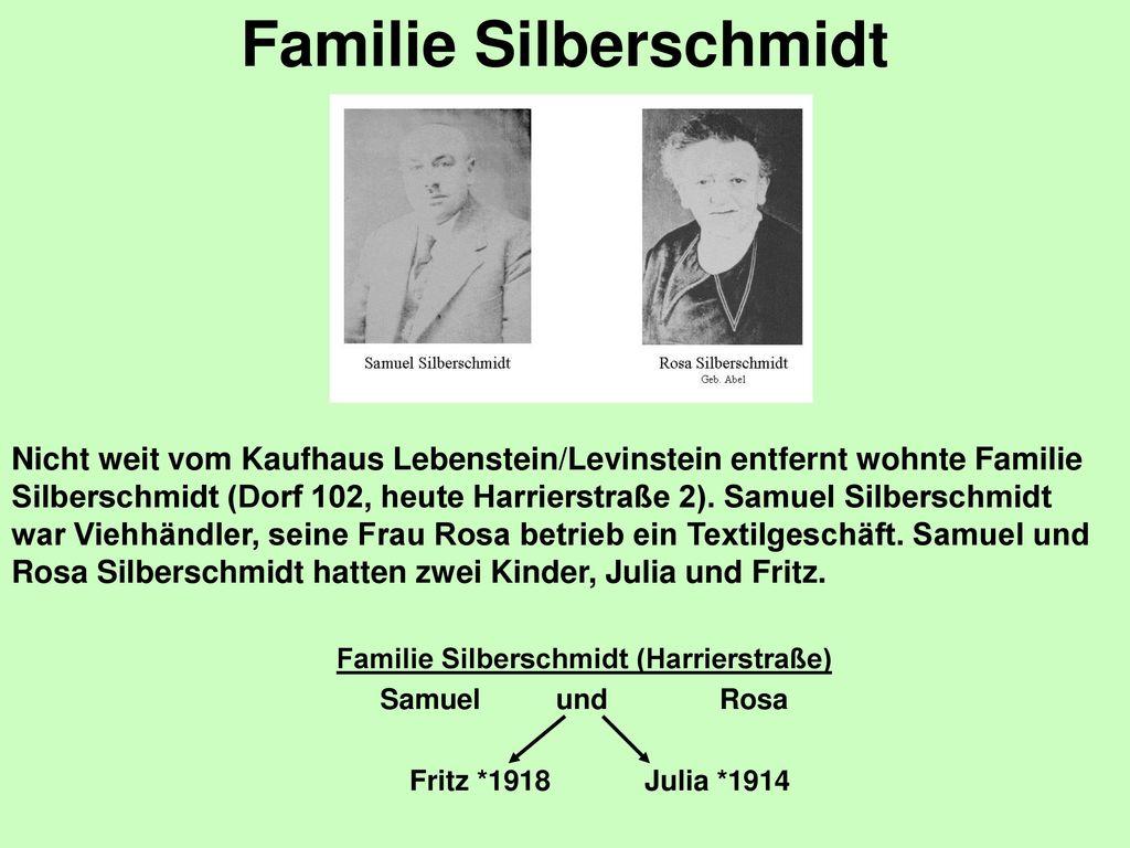 Familie Silberschmidt