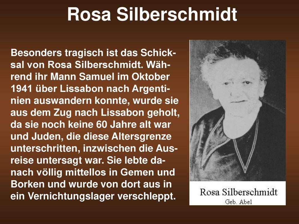 Rosa Silberschmidt