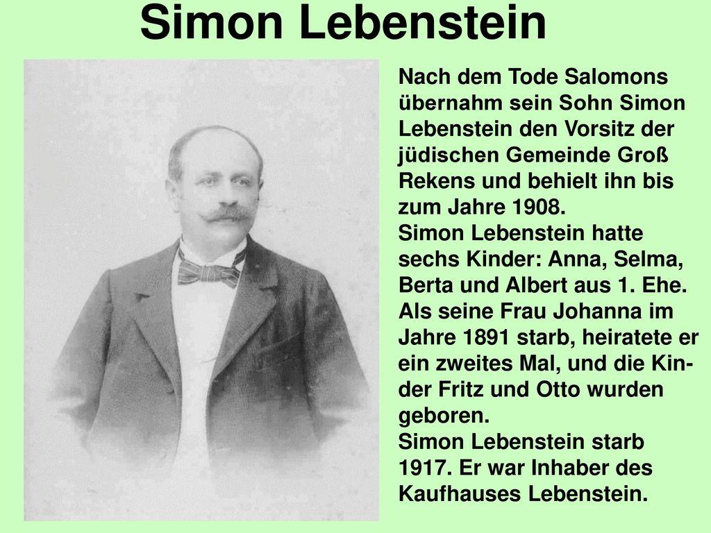Simon Lebenstein