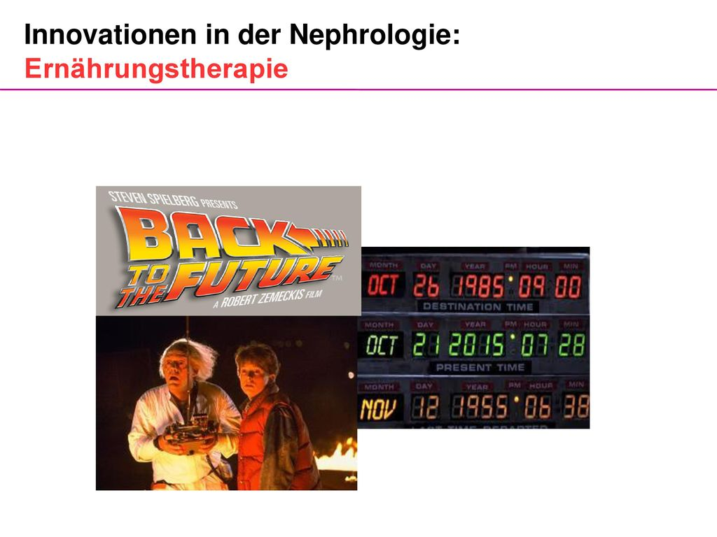 Innovationen in der Nephrologie: