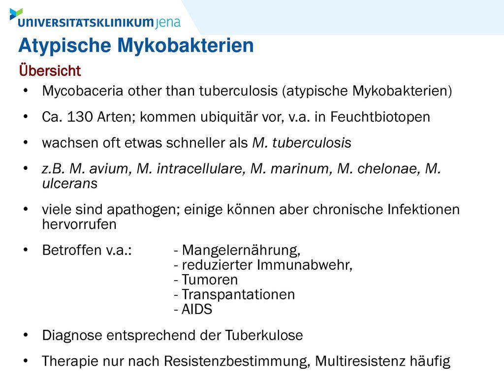 Atypische Mykobakterien