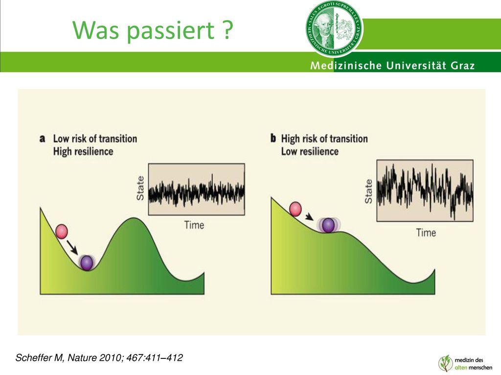 Was passiert Scheffer M, Nature 2010; 467:411–412