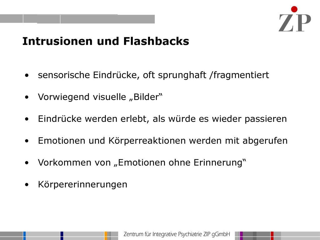 Intrusionen und Flashbacks