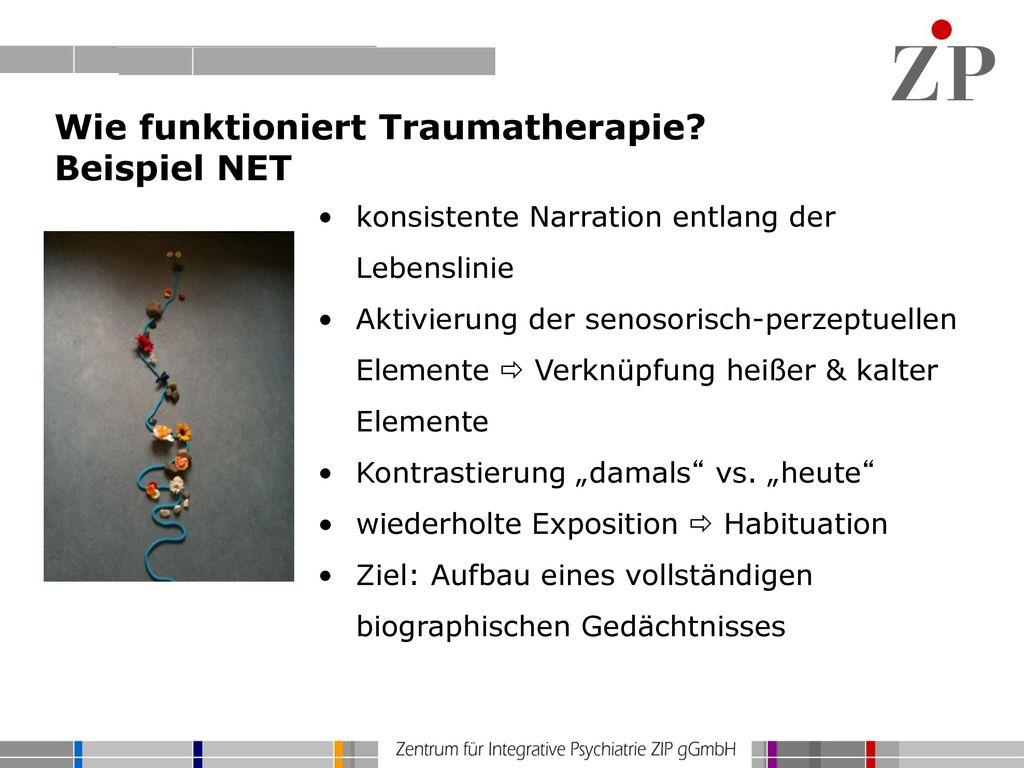 Wie funktioniert Traumatherapie Beispiel NET