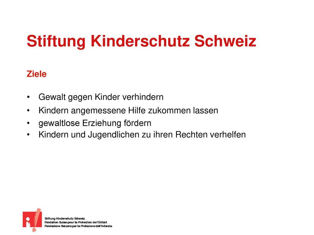 Stiftung Kinderschutz Schweiz