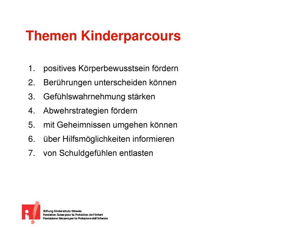Themen Kinderparcours