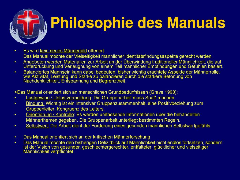 Philosophie des Manuals
