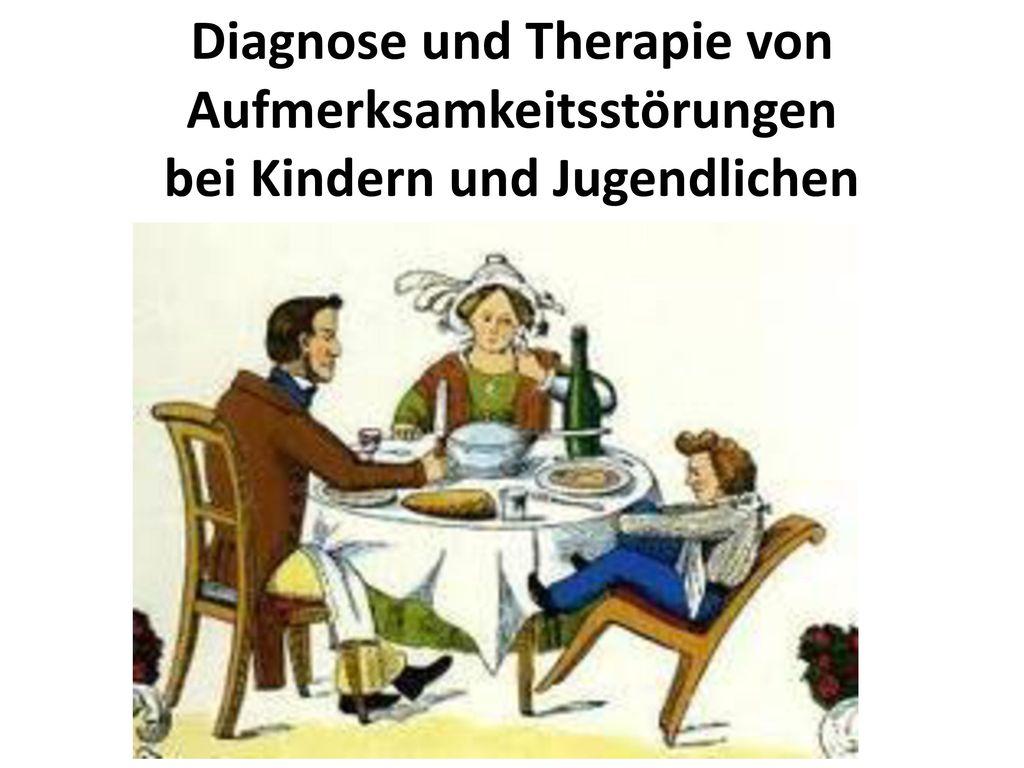 Diagnose und Therapie von Aufmerksamkeitsstörungen bei Kindern und Jugendlichen