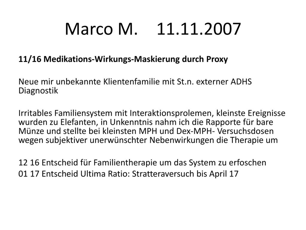 Marco M. 11.11.2007