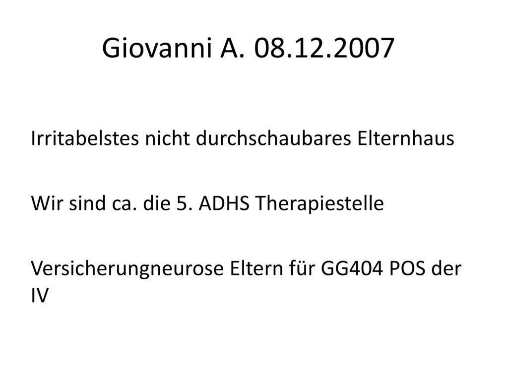 Giovanni A. 08.12.2007