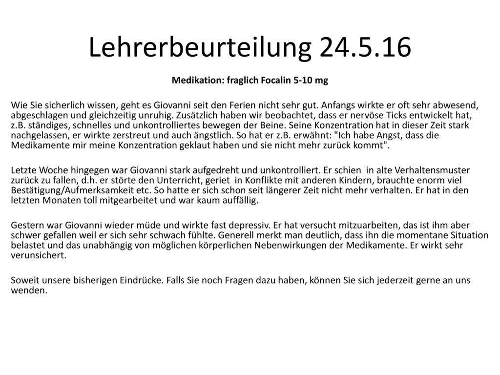 Lehrerbeurteilung 24.5.16
