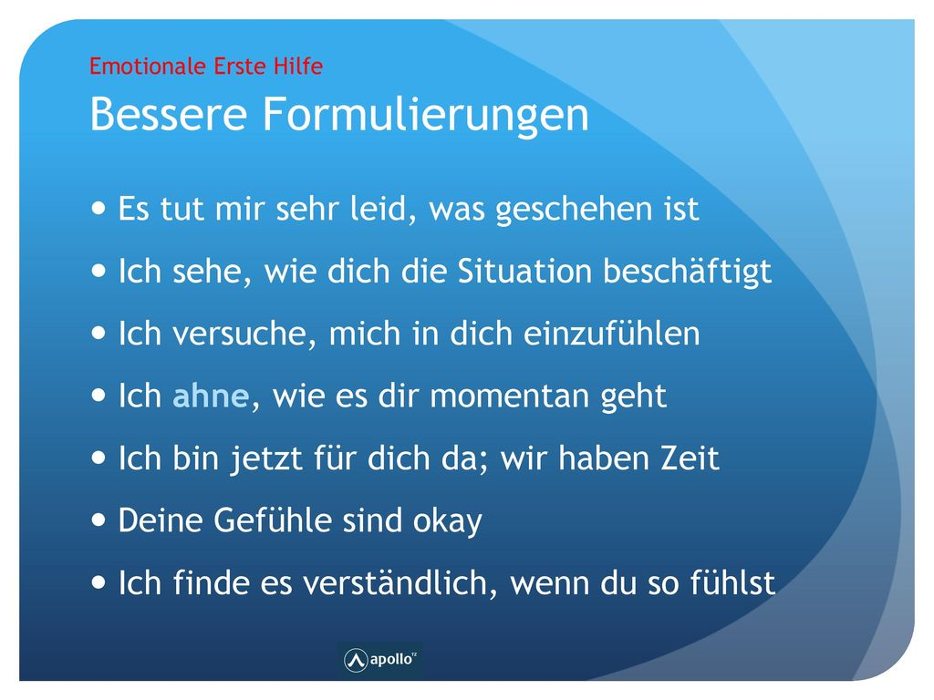 Notfall-Psychologie Sep-17 Any Questions © 11JAN16 by Horst Hablitz