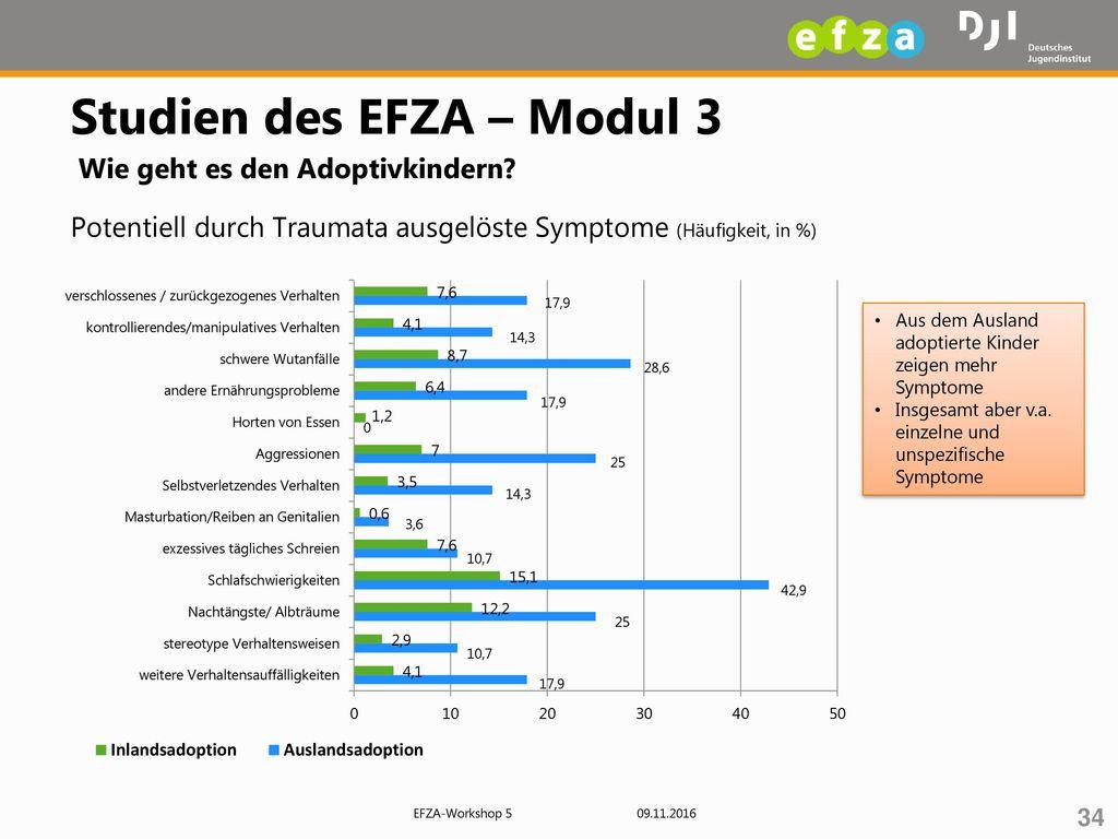 Studien des EFZA – Modul 3 Wie geht es den Adoptivkindern