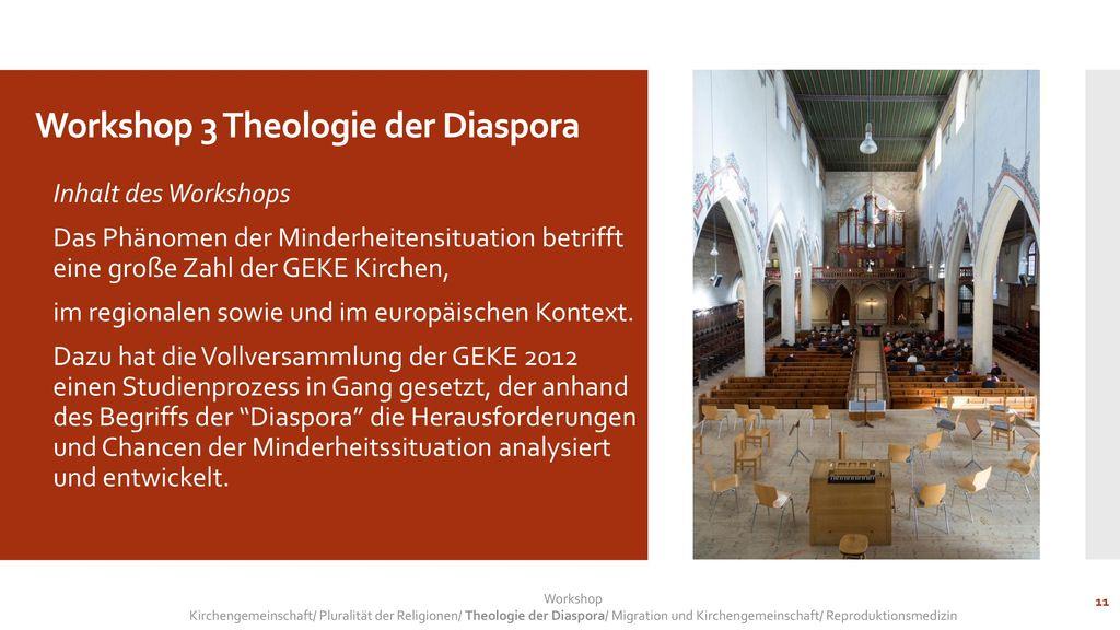 Workshop 3 Theologie der Diaspora