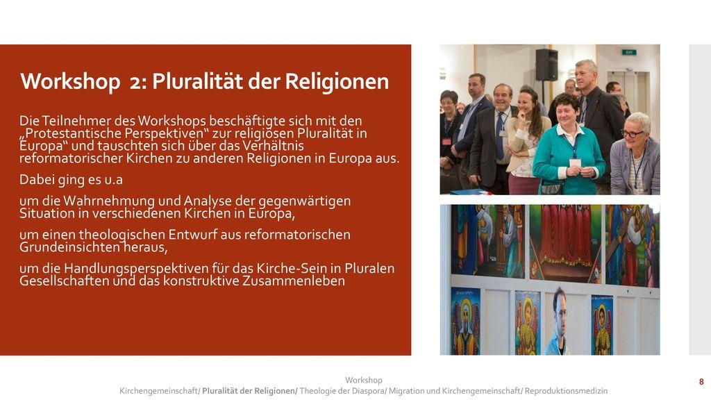 Workshop 2: Pluralität der Religionen