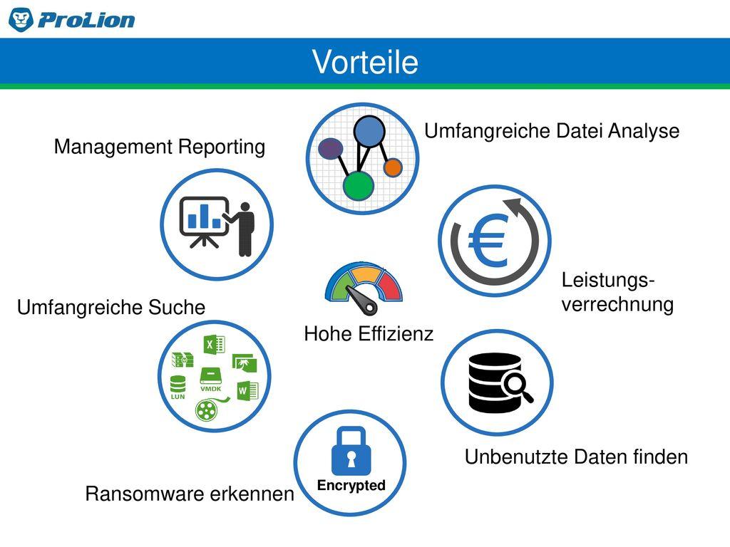 € Vorteile Umfangreiche Datei Analyse Management Reporting