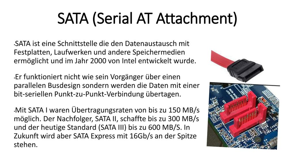 SATA (Serial AT Attachment)
