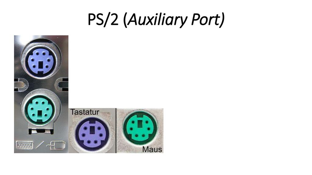 PS/2 (Auxiliary Port) 17