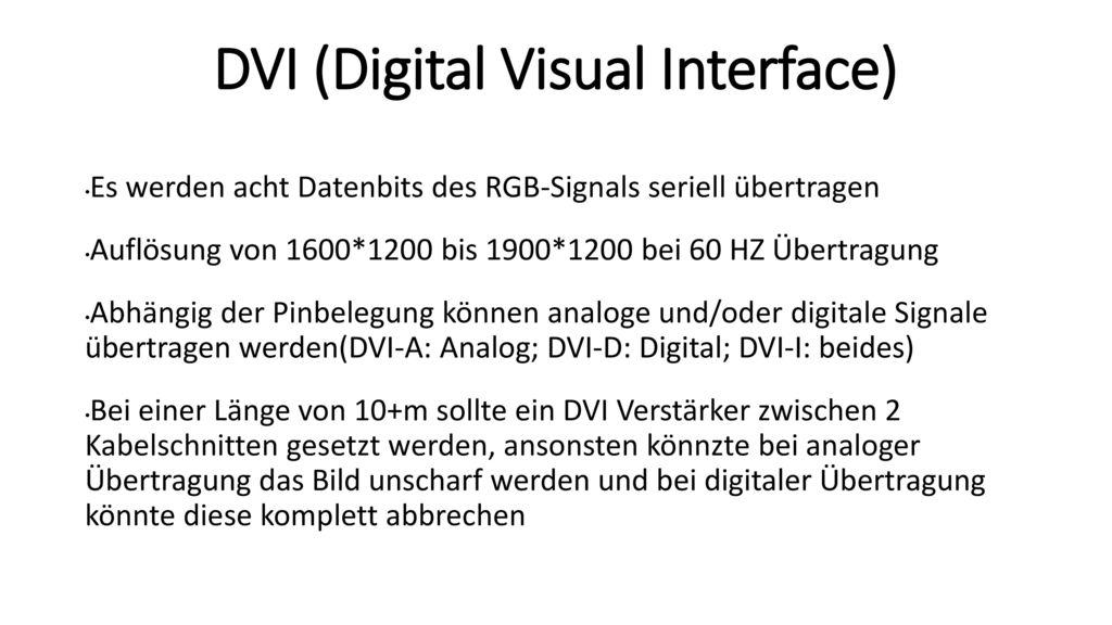 Großzügig Dvi Schaltplan Bilder - Die Besten Elektrischen Schaltplan ...