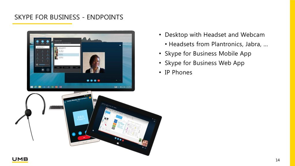Skype for business - Endpoints