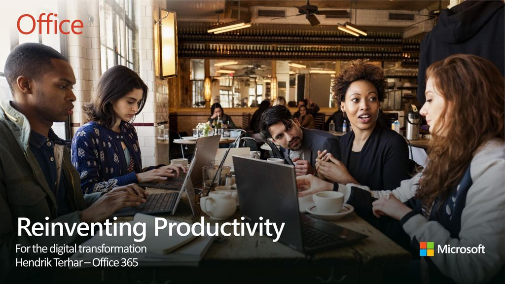 Reinventing Productivity