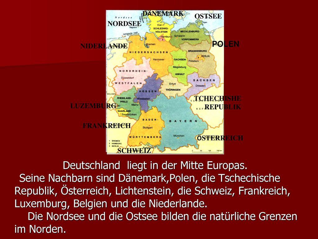 Republik, Österreich, Lichtenstein, die Schweiz, Frankreich,