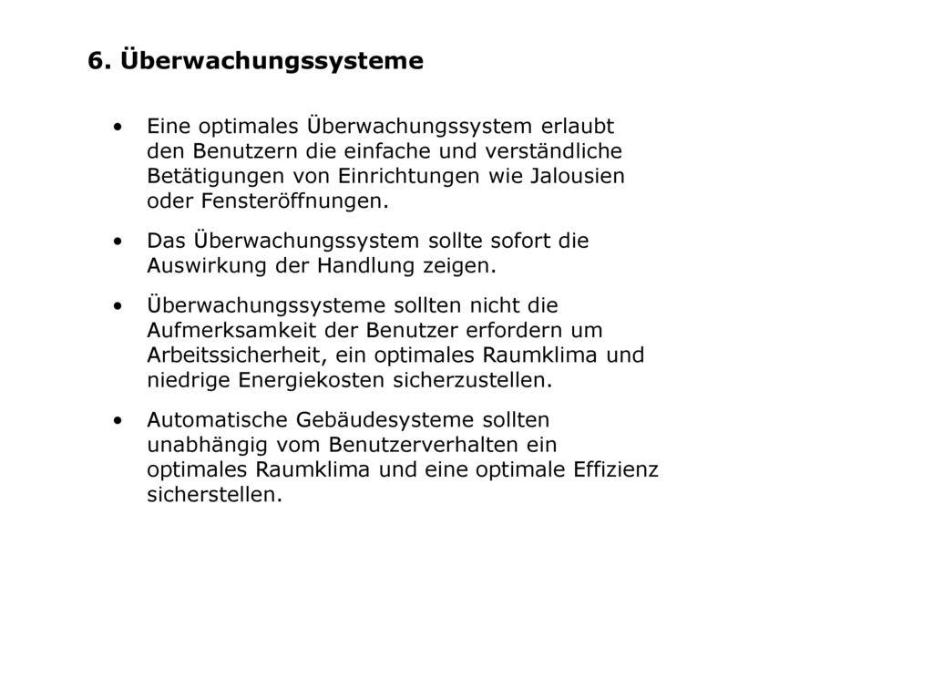 6. Überwachungssysteme