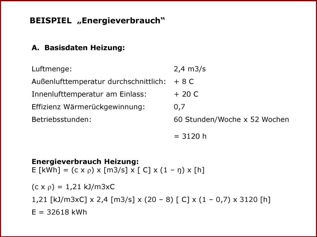 """BEISPIEL """"Energieverbrauch"""